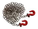 "Apex APX4050 1/10 Rc Rock Crawler 33"" Scale Metal Chain W/ Hooks #4050"