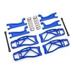 Suspension kit, Wide Maxx, blue