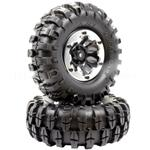 "1.9"" Beadlock ""k2"" Wheels + 108mm ""muncher"" Crawler Tires"