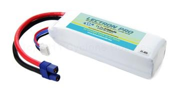 Lectron Pro 3S270035EC3 11.1 volt - 2700mAh 35C with EC3 Connector