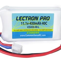 11.1V 450mAh 40C Lipo Battery with JST (3S45040L)