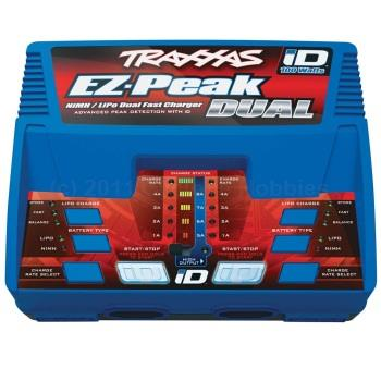 Traxxas  EZ-Peak Plus, 100W, Dual charger with iD (TRA2972)
