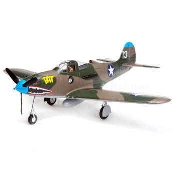 EFlite  P-39 Airacobra 1.2m BNF Basic with AS3X and SAFE Select (EFL9150)