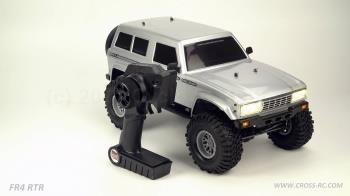 Cross RC  FR4 1/10 Demon 4x4 RTR; No Battery or Charger - Gunmetal (CZRFR4RTRG)