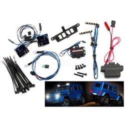 8811 or 8825 Body LED light set (Includes power supply, headlights, tail lights, roof lights)