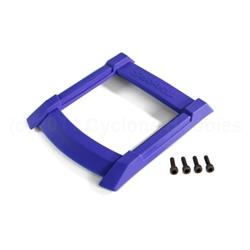 Maxx Roof Skid Plate (blue)/ 3x12mm CS (4)