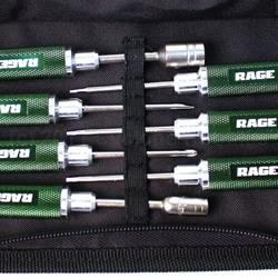 Compact 7 Piece Machined Tool Set with Case (RGR1500)