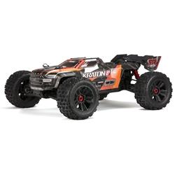 1/5 KRATON 4X4 8S BLX Brushless Speed Monster Truck RTR, Orange (ARA110002T2)