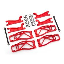 Suspension kit, Wide Maxx, Red (TRA8995R)