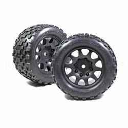 Scorpion XL Belted Tires, w/ Viper Wheels, for Traxxas X-Maxx 8S (2pc) (PHT3275)