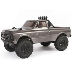 1/24 SCX24 1967 Chevrolet C10 4WD Truck Brushed RTR, Silver (AXI00001T2)
