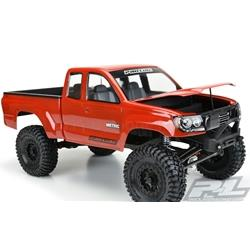 Racing Builders Series Metric Clear Body with 12.3 Wheelbase: 1/10 Rock Crawlers (PRO352000)